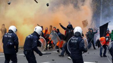 صورة ضباط الشرطة هم ضحايا ما يقرب من 13000 من أعمال العنف كل عام