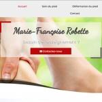 Marie-Françoise Robette Votre pédicure à Tournai