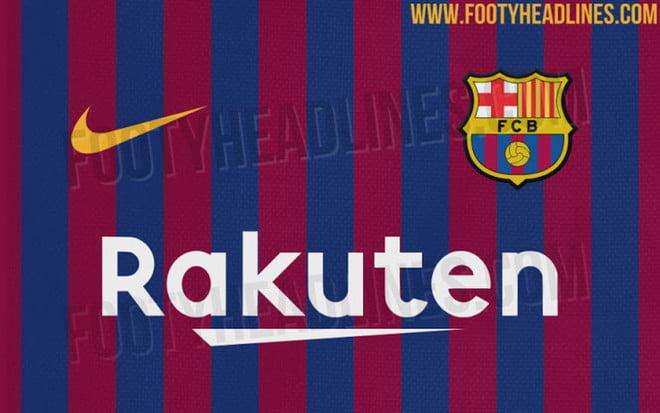 قميص برشلونة في الموسم المقبل