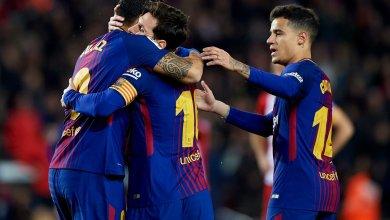 Photo of نجم برشلونة يتعرض للإصابة في مباراة إسبانيول