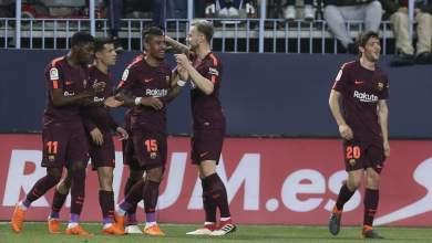 Photo of بالدرجات .. تقييم لاعبي برشلونة أمام مالاجا