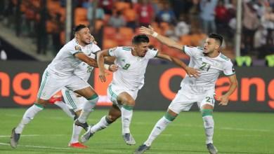 Photo of بالصور| لافتة رائعة من منتخب الجزائر مع لاعبي السنغال