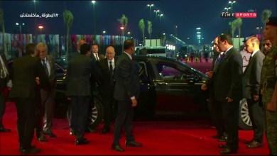 Photo of لحظات وصول السيد عبد القادر بن صالح رئيس الجزائر إلي ستاد القاهرة