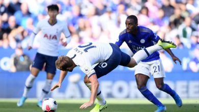 Photo of الدوري الإنجليزي : ليستر سيتي يقلب الطاولة على توتنهام في مباراة مثيرة