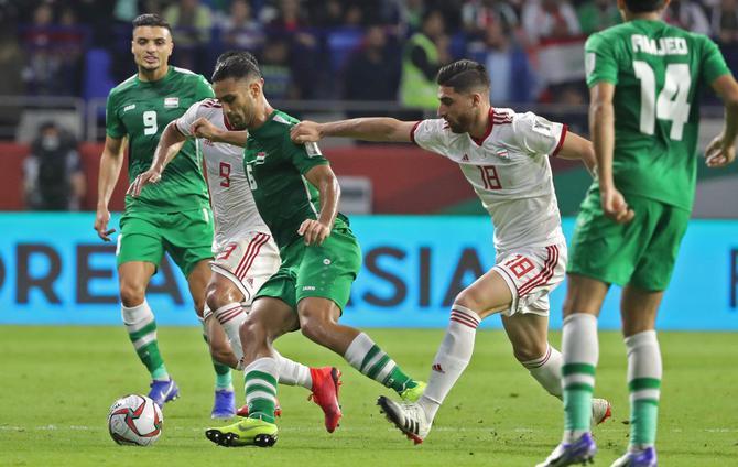 موعد مباراة العراق واليمن في خليجي 24 والقنوات الناقلة - بالجول