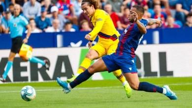 Photo of الدوري الإسباني| ليفانتي يقلب الطاولة على برشلونة في 7 دقائق