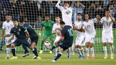 Photo of ملخص مباراة الارجنتين والاوروجواي .. مباراة ودية