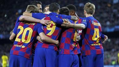 Photo of عاجل.. التشكيلة الرسمية لموقعة برشلونة وإنتر ميلان