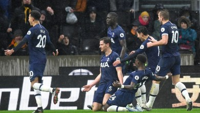 Photo of اهداف مباراة توتنهام وولفرهامبتون (2-1) الدوري الانجليزي