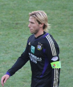 Lucas Biglia - captained Anderlecht to the title last season. (copyright John Chapman)