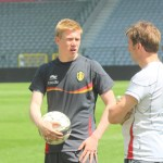 Kevin De Bruyne - with Belgium in 2013 (copyright John Chapman).