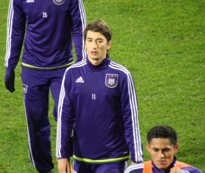 Anderlecht's Filip Djuricic has looked lively after arriving from Benfica.