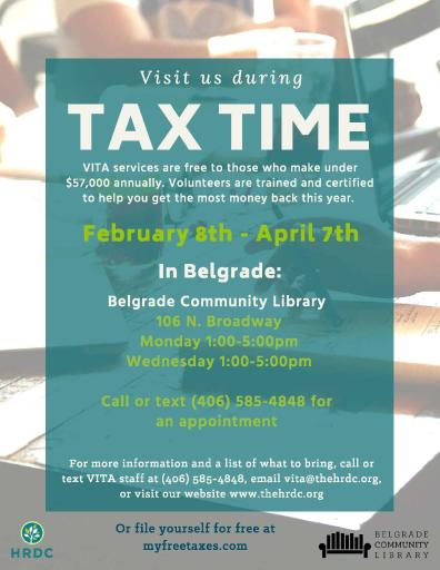 BCL Tax Flyer