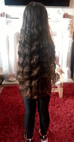 Five Year Old Donates Hair To Little Princess Trust