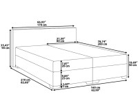 King Size Mattress Size In Feet. File:UK MattressSizes Svg ...