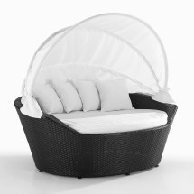 Day Bed Wicker Patio Furniture Daybed Sylt Outdoor