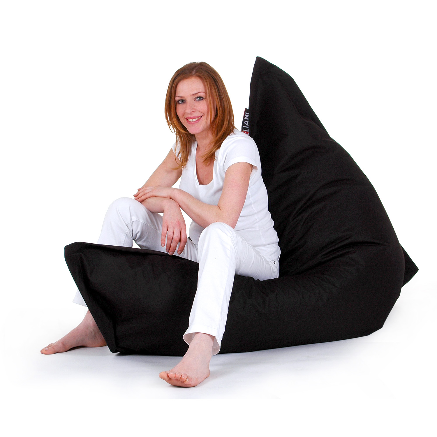 bean bag chairs for adults cane back sale kids giant chair large black ebay