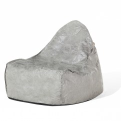 Giant Bean Bag Chairs For Adults Metal Outdoor Kids Chair Sack Grey Ebay