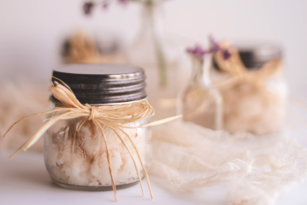 bath and skincare products