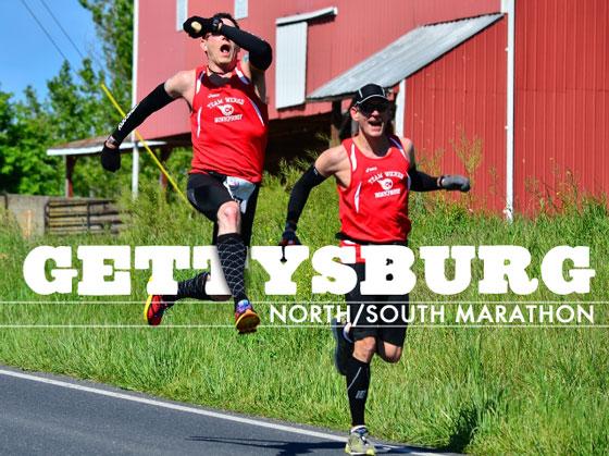 Gettysburg North South Marathon