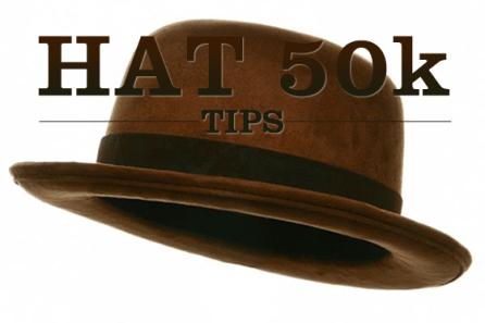 Tips for running the HAT 50k