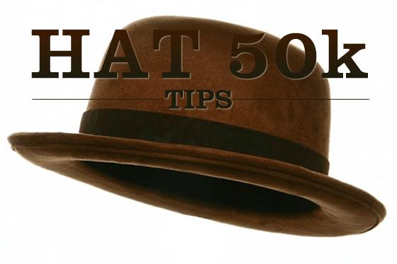HAT 5ok Tips