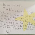 Emily Kolenda Thank You Note