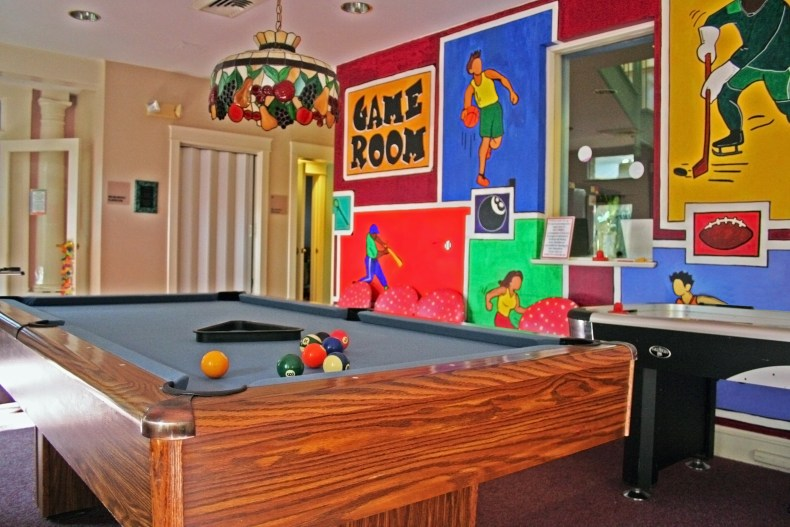 The Children's House at Johns Hopkins game room