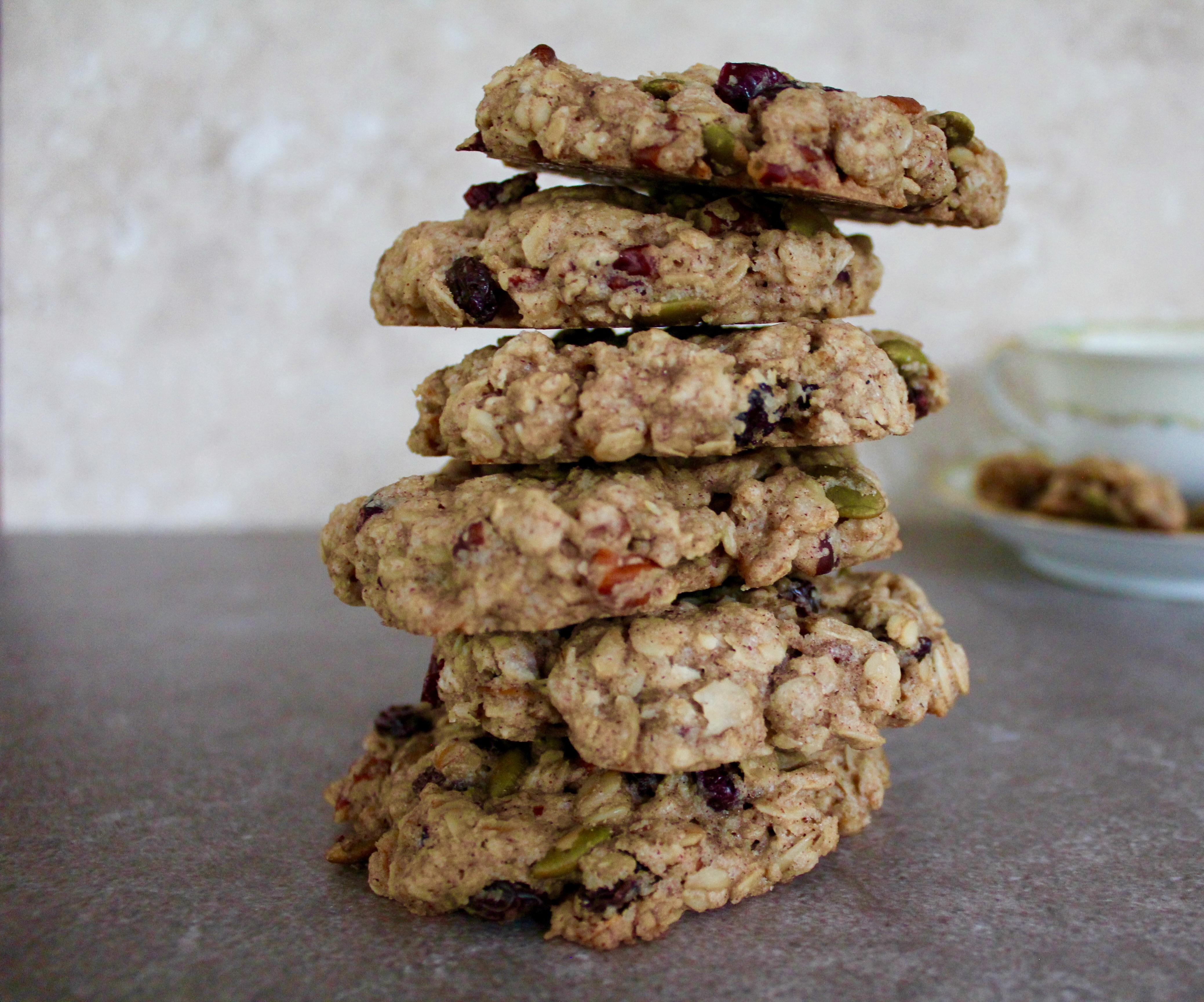 oatmeal breakfast cookies v gf