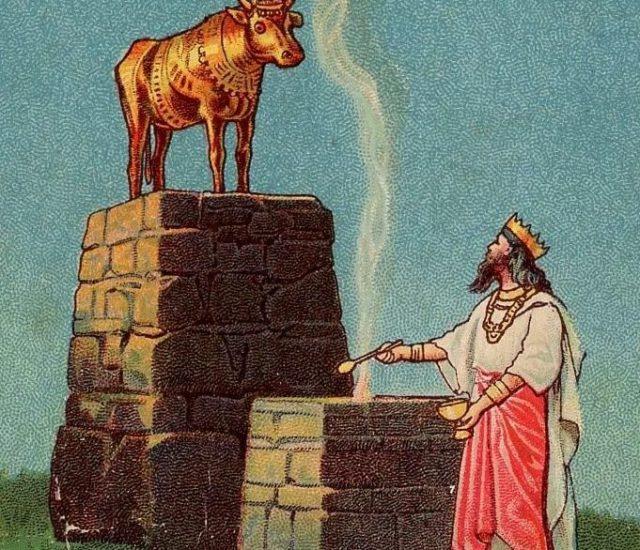1 Kings 12 Jeroboam and the Golden Calves - Believe Trust