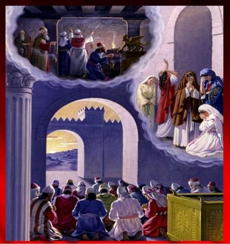 Ezekiel 8 Idolatry In The Temple Believe Trust