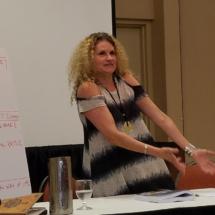 Alexandra Sokoloff in teaching mode