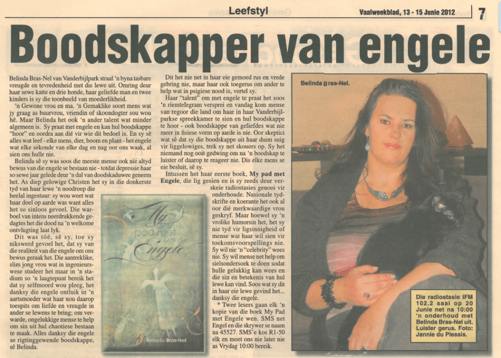 Vaalweekblad 13 - 15 jun 2012