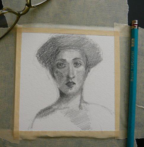 small pencil portraits