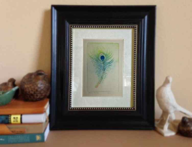 framed drypoint
