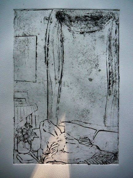 matboard collagraph