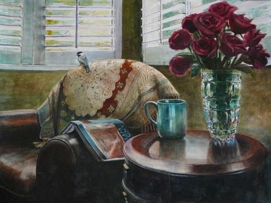 art-afternoonwithwyeth19x24
