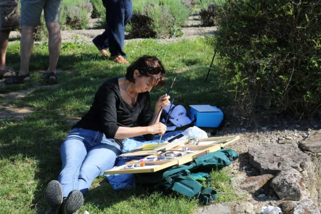 plein air painting and the public