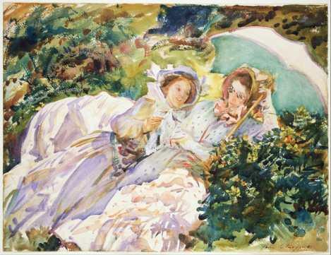 John-Singer-Sargent-watercolor