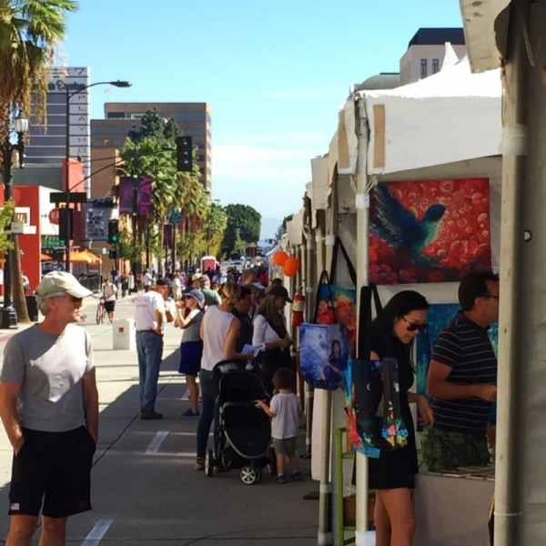 Watercolor Opuntia & Art Show Weekend - Belinda Del Pesco