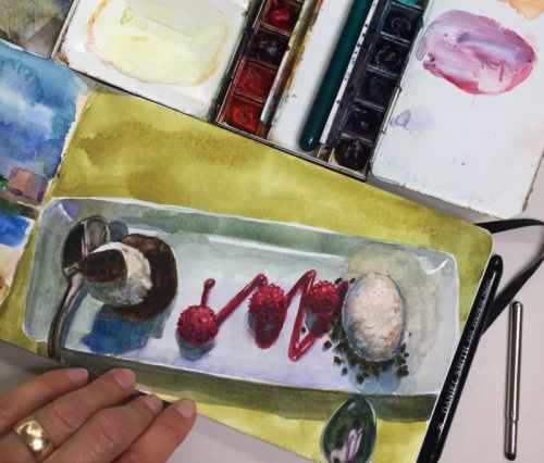watercolor-in-a-moleskine