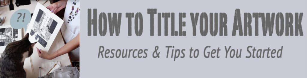 how to title your artwork