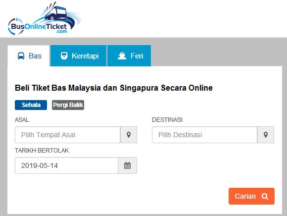 beli tiket bas online carian