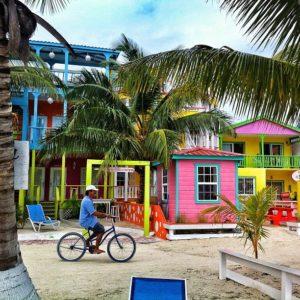 Caye Caulker Caribean colors