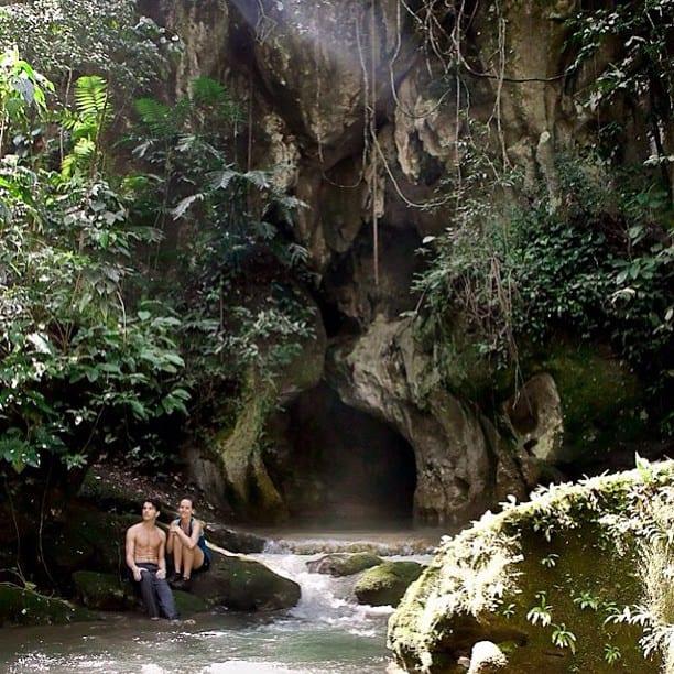 Belize ATM Cave entrance