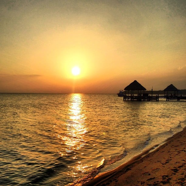 Sunrise in Placencia
