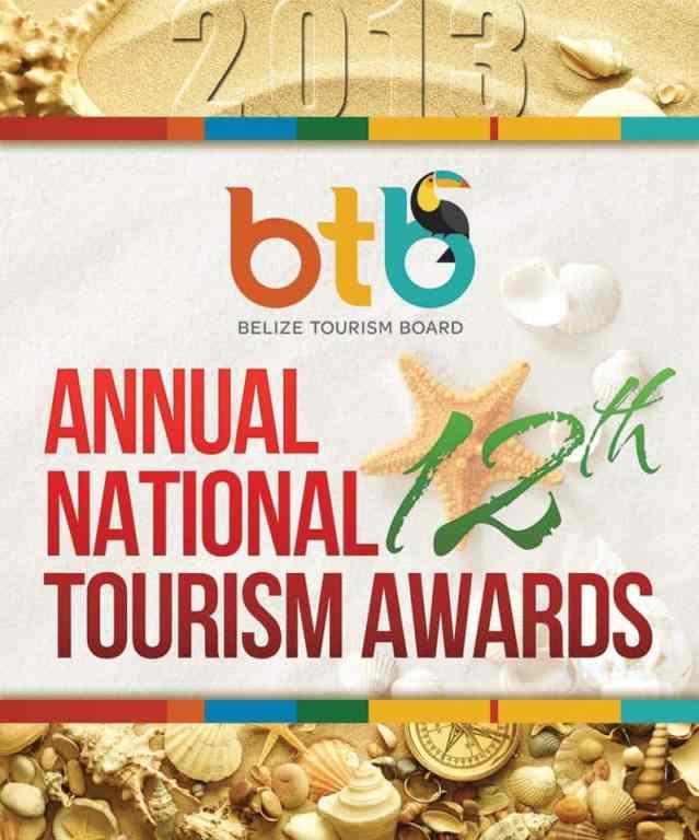 belize tourism awards 2013