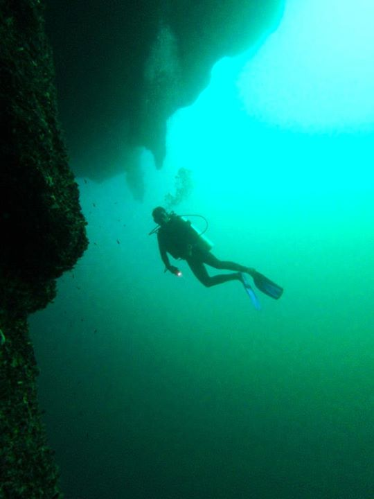 Have Great blue hole belize diving long