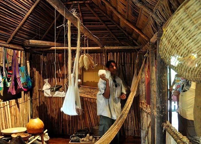 maya home replica belize