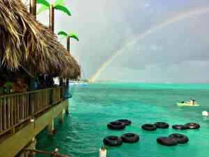 The Palapa Bar In San Pedro Ambergris Caye